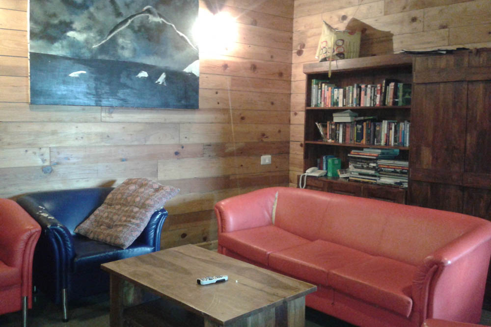 One of the Hostel lounges