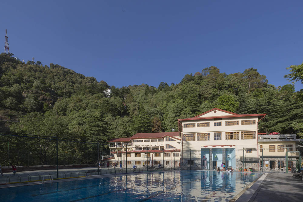 The Hostel and Swimming Pool