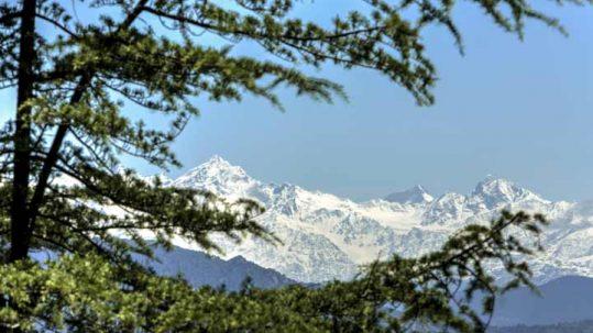 Himalayan mountain view