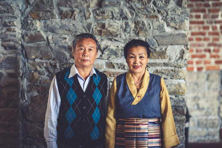 Mr and Mrs Chophel