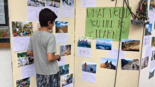 Woodstock student outdoor education survey